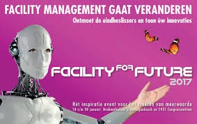 Lezing 'De future of work!' op Facility for Future 2017
